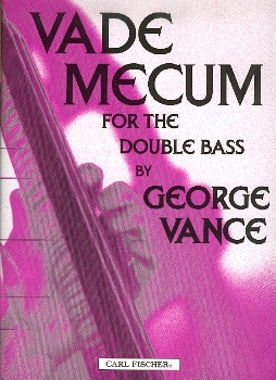 3014 Vade Mecum for the doubble bassist